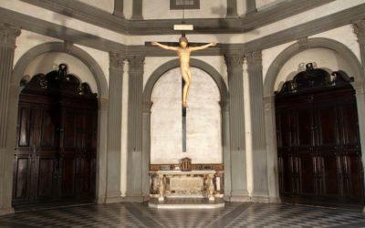 Il Cristo di Michelangelo torna a Santo Spirito