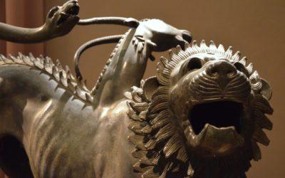 La Chimera del Museo Archeologico di Firenze